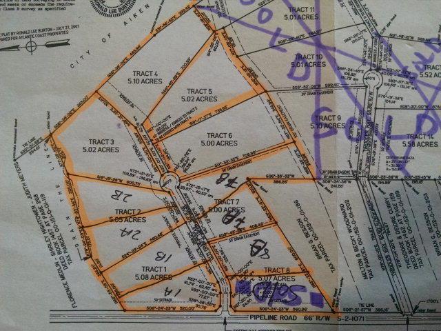 Lot 7b  Old Draft Trail Aiken, SC 29801
