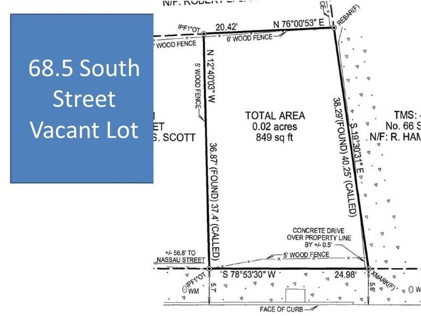 68.5  South Street Charleston, SC 29403