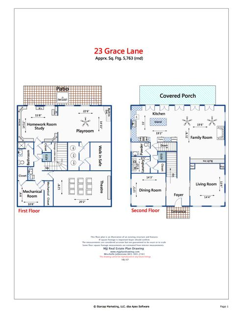 23 Grace Lane Mount Pleasant, SC 29464