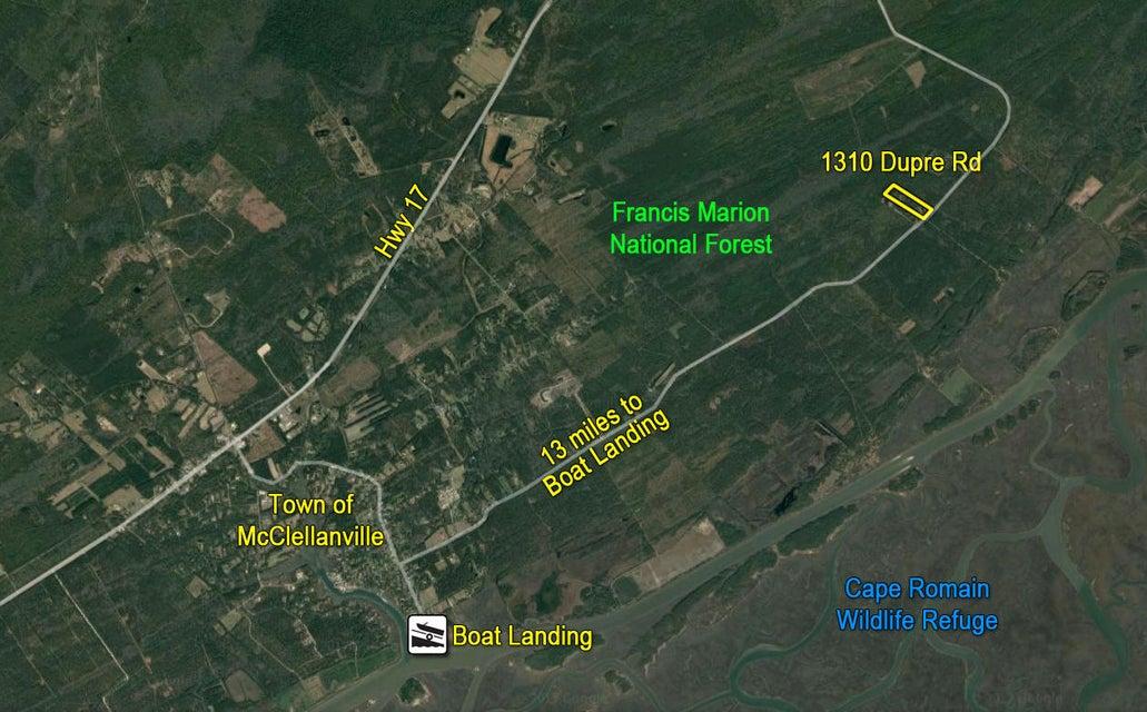 1310 Dupre Road Mcclellanville, SC 29458