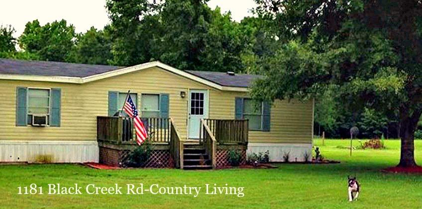 1181 Black Creek Walterboro, SC 29488