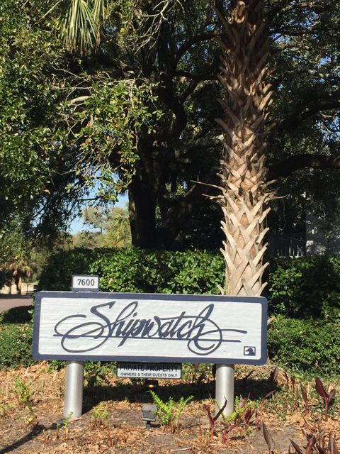 D-120  Shipwatch, 7600 Palmetto Drive Isle Of Palms, SC 29451