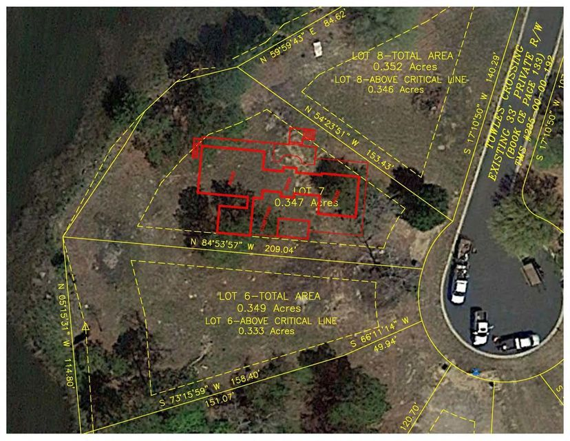 545 Lot 7 Towles Crossing Drive Hollywood, SC 29449