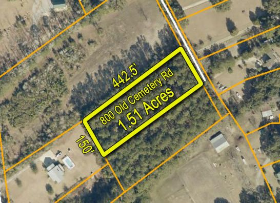 800 Old Cemetery Road, McClellanville, SC 29458