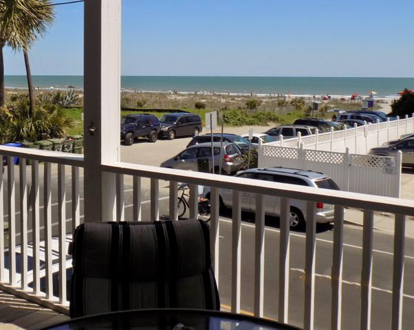 Enjoy the view. Easy access across the street to the beach.