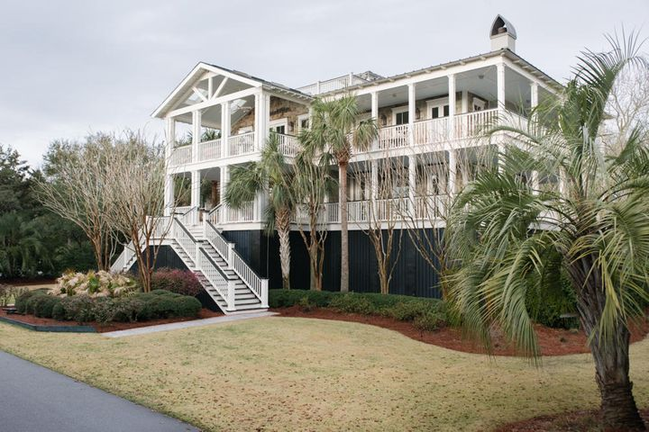 Double Porches with views of waterway