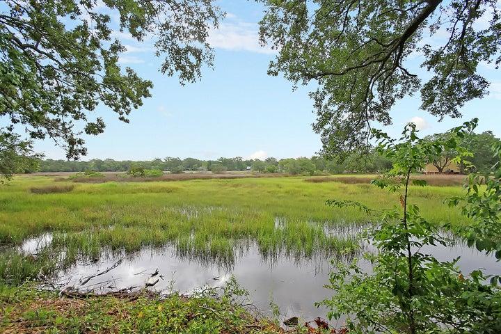 Beautiful marshfront backyard