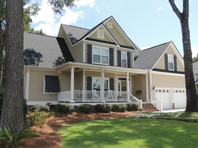 Southern Style Home with oversized Front Porch