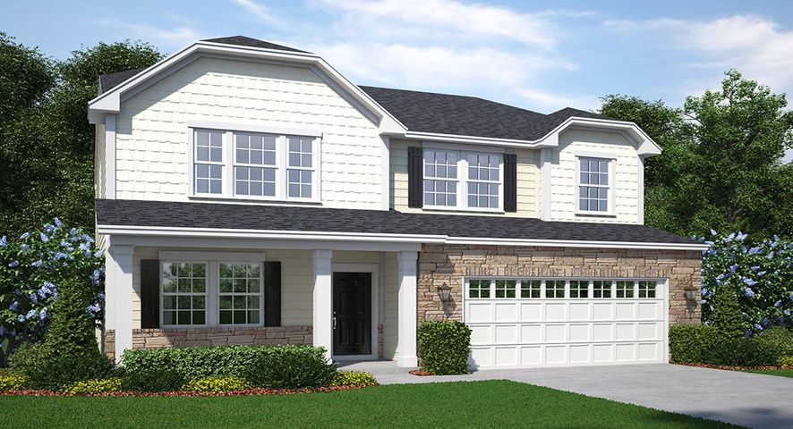 not actual home; model from another location; contact new home consultant for details