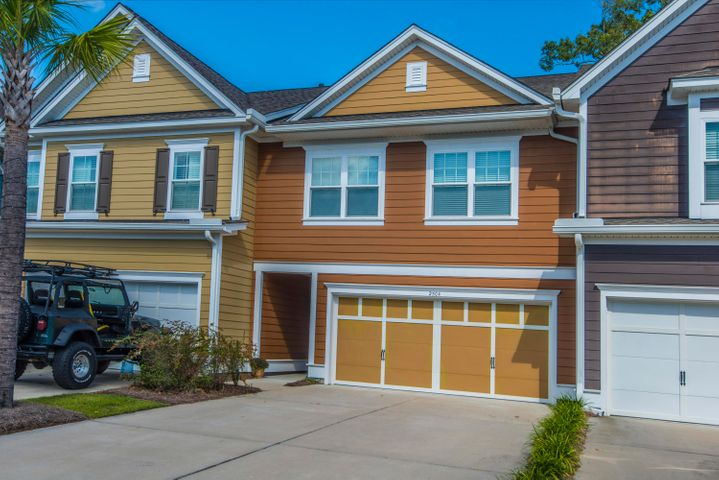 The Heritage townhomes just outside the main gate of Dunes West Golf Community