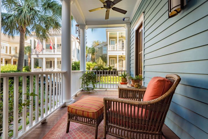 Welcome to 67 Sanibel in the heart of I'On. An inviting entry greets you.