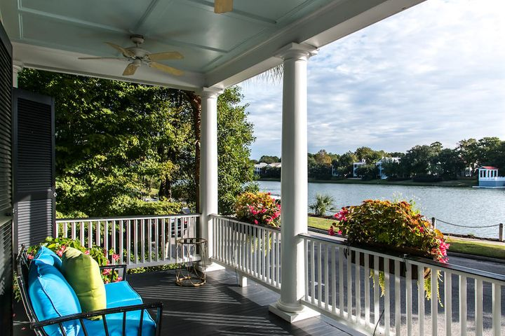 Gorgeous lake views from three porches.