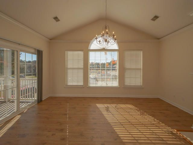 Great Room - Palladiann Window and Sliding Door to Screened Porch