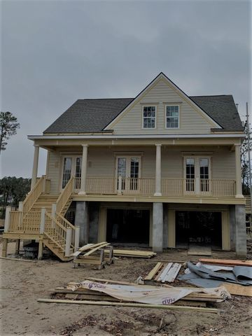 Real home being built on Lot 71.