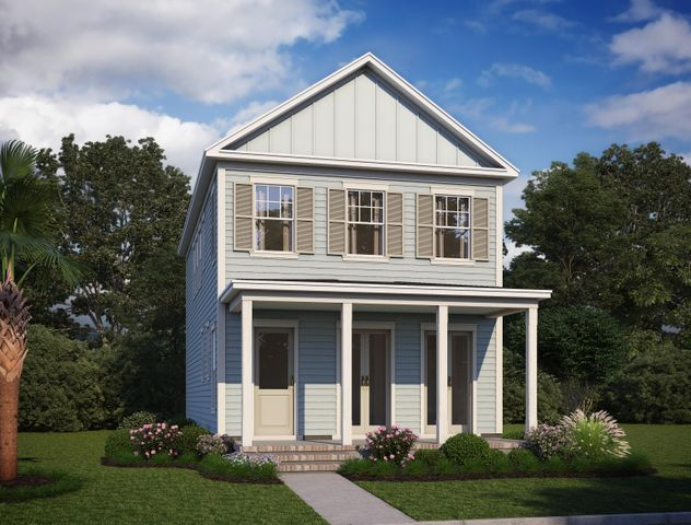 Ashley A with gorgeous wide front porch and beautiful french doors