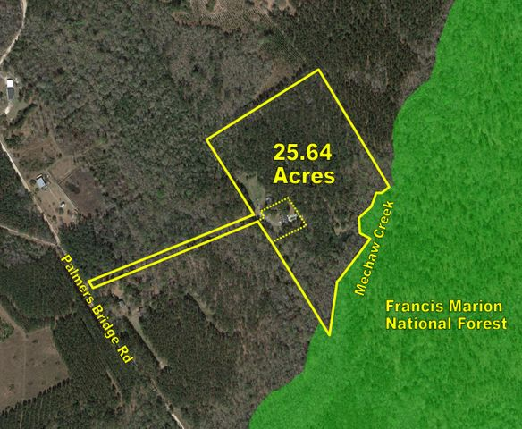 2290 Palmers Bridge Road, McClellanville, SC 29458