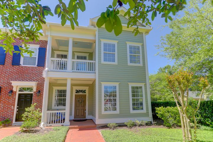 Classic Charleston home, freshly painted outside & in! Double front porches!