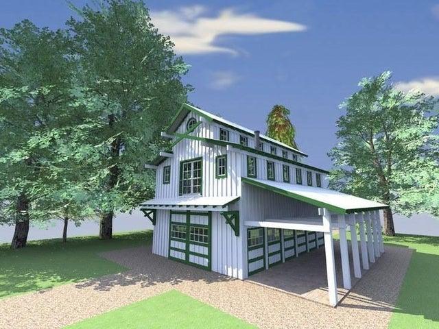 Concept Barn Apartment by Jeff Johnson Designs