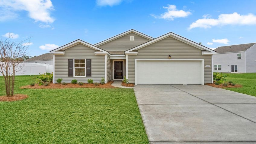 Model home photos for representation only, colors and options may vary