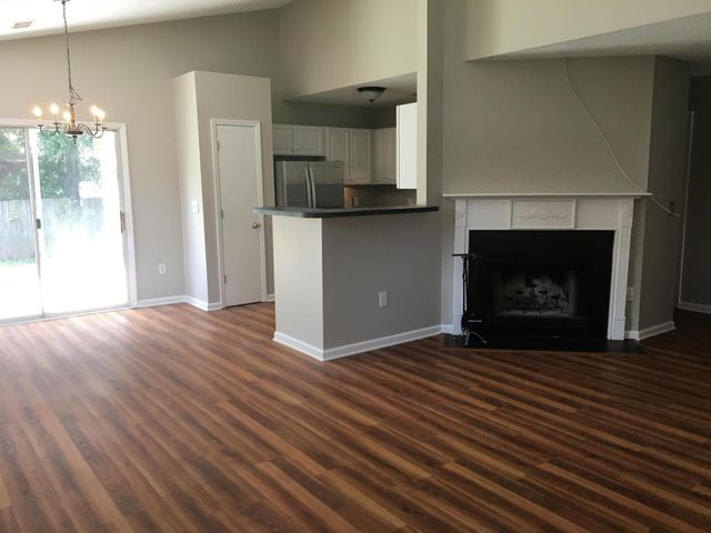 Beautiful updated interior with freshly painted and updated luxury vinyl wood plank like flooring