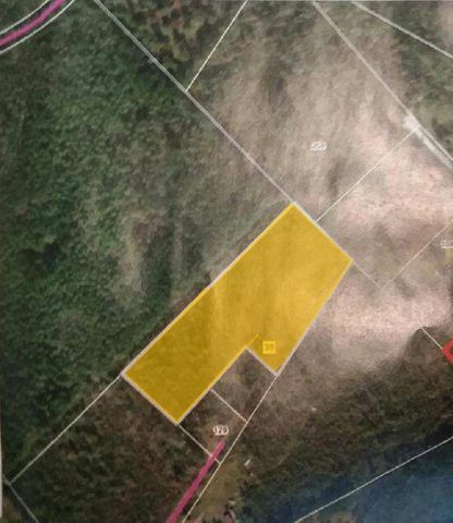 Was previously 10 acres (listed at 129 Mitchum Lane) and is now 8, with the sale of 2 acres shown in image.