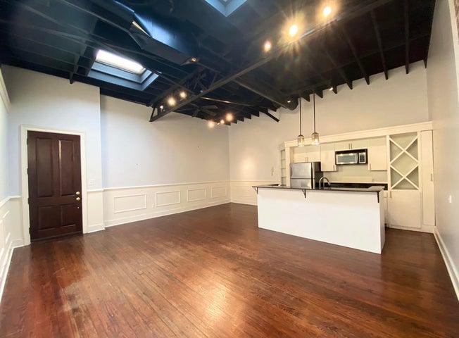 Living room kitchen open floor plan