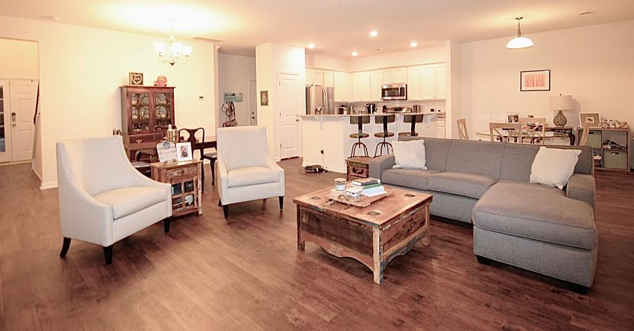 Beautiful open floor plan.