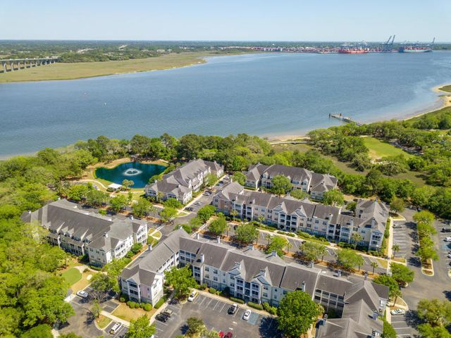 Waterfront complex where new yacht club is being built