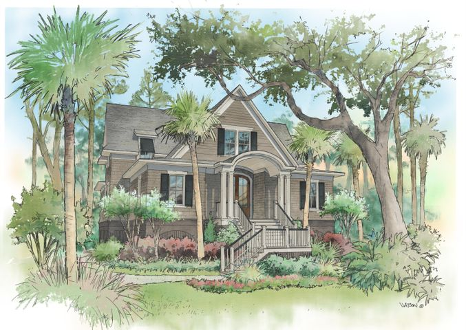 Andell Manor, proposed build for 3032 Seabrook Island Rd.