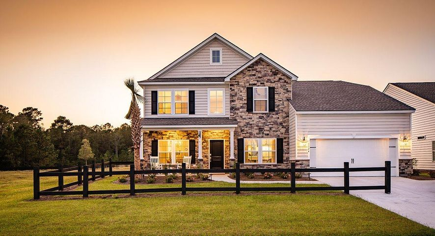 Photos are of our Virginian Model home. For representation only