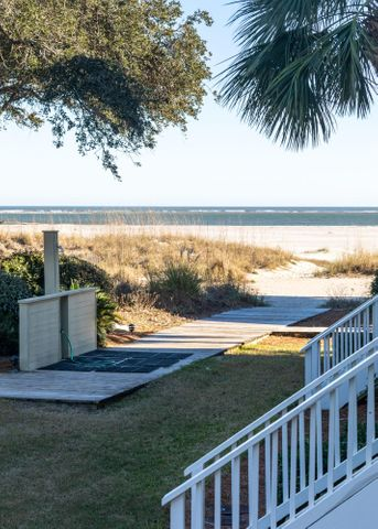 Just steps from the ocean and beach shower...the perfect spot.