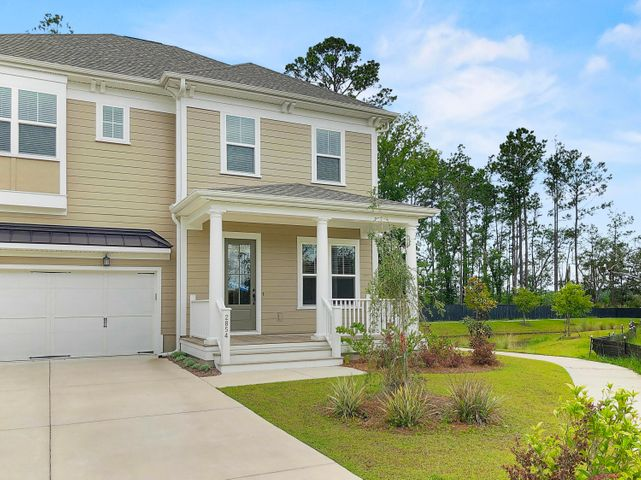 Oversized Lot next to pond and pond across street in front also!
