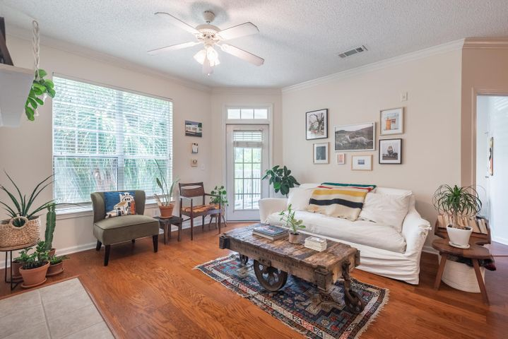 Unit 1625 offers great natural light.