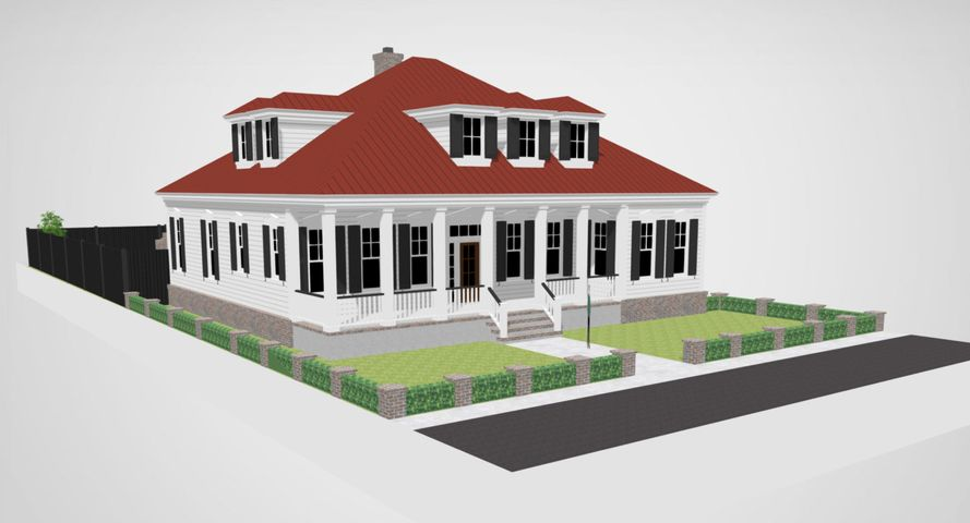 The Beale plan in the Southern Living Inspired Community
