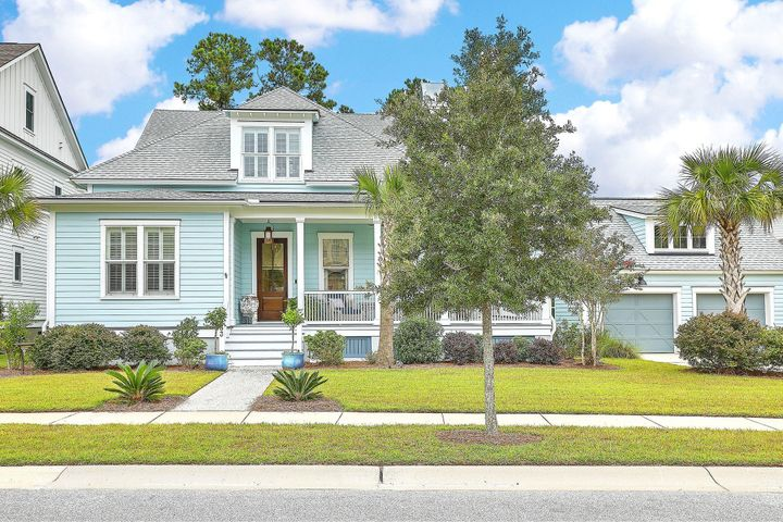 Beautiful custom home settled on a quiet picturesque street