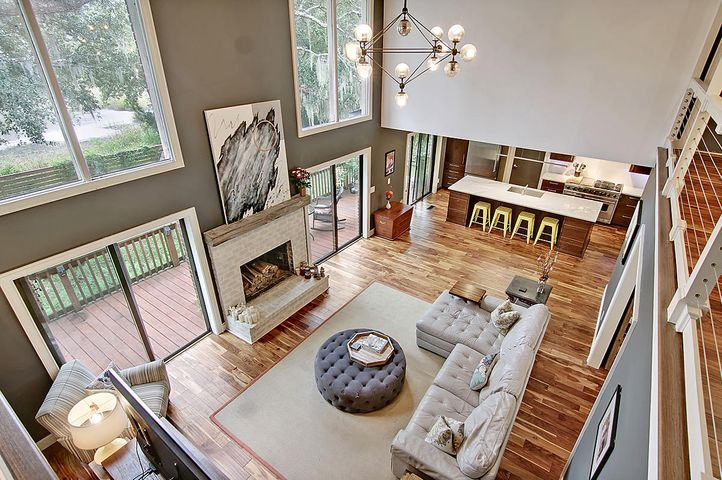 Quintessential Lowcountry views from the expansive windows