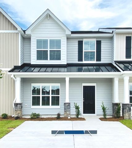 Lovely Lawton Model (picture of a completed model, actual townhome is under construction).