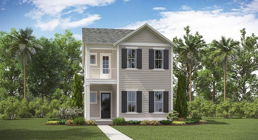 The Rutledge - Elevation D with Double Front Porches