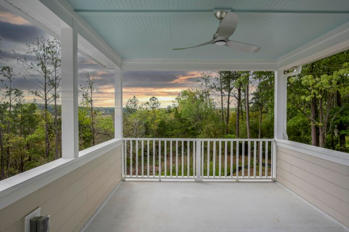 Private Master Bedroom Porch
