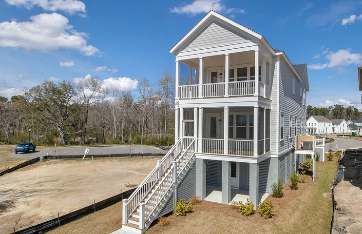 UNDER CONSTRUCTION! gorgeous Charleston Single Elevated home w/ double porches off Rear for maximum views