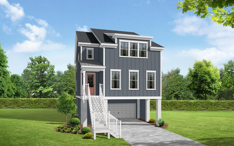 Brand New Plan Kensley A. Not actual home. Rendering is for representation only.