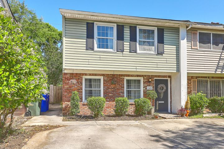 Marshfront, end-unit townhome in Wagener Terrace