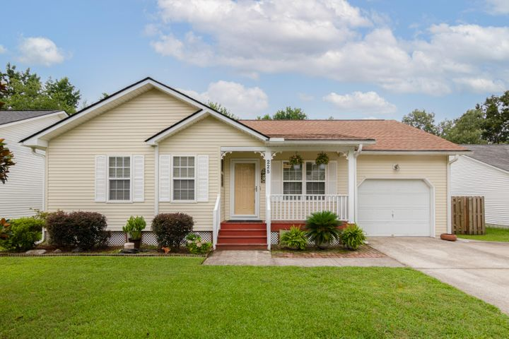 The curb appeal says Welcome Home to 225 Okehampton!
