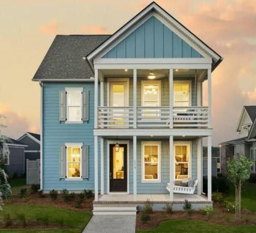Picture of model home of same floor plan.