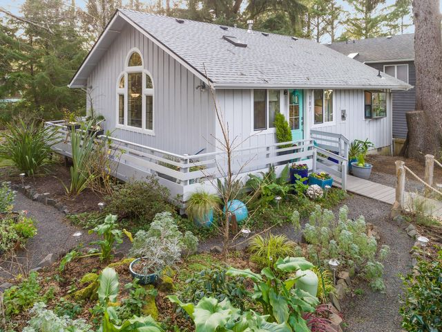 Paradise is found on a quiet street in coveted midtown Cannon Beach.