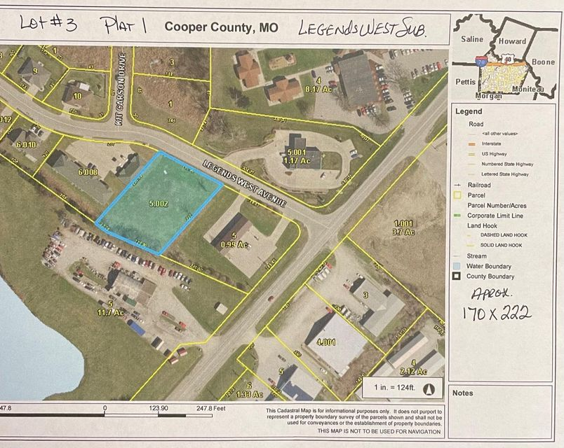 Lots and Land for sale –   Legends West Ave.   Boonville, MO
