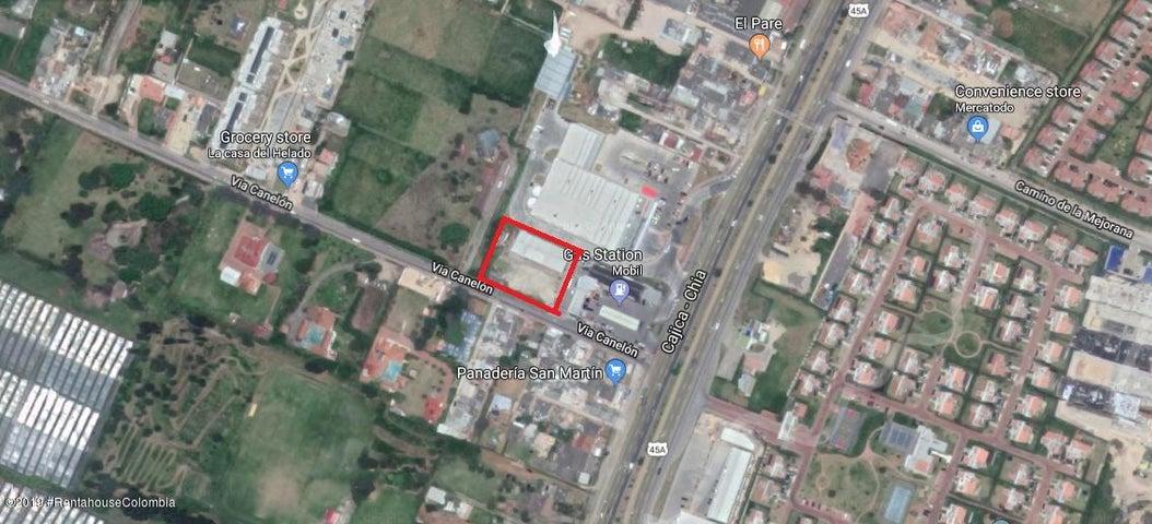 Terreno Cundinamarca>Cajica>Vereda Canelon - Venta:3.200.000.000 Pesos - codigo: 19-411