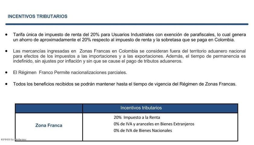 Local Comercial Bogota D.C.>Bogota>Zona Franca - Arriendo:74.578.500 Pesos - codigo: 19-458