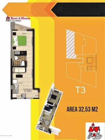 Apartamento Quindio>Armenia>La Castellana - Venta:102.469.500 Pesos - codigo: 19-486