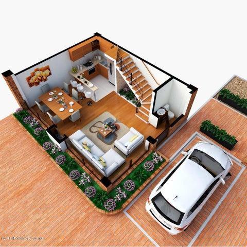 Casa Cundinamarca>Cajica>Vereda Chuntame - Venta:395.000.000 Pesos - codigo: 19-716
